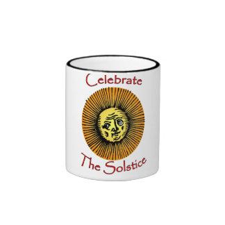 Taza de café del solsticio de verano