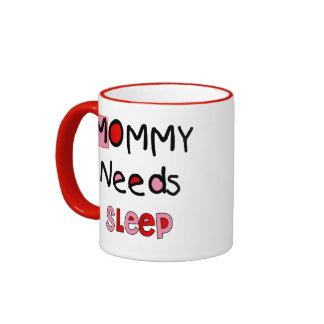 Taza de café del sueño de las necesidades de la