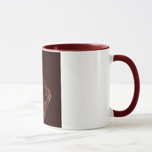 Taza de café del tambor o del batería