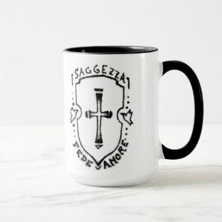 Taza de café del tatuaje de Ashley Ellen Goetz