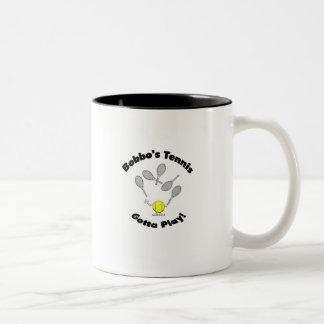 Taza de café del tenis de Bobbo