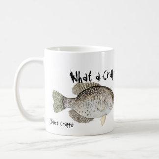 Taza de café del tipo de pez