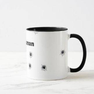 Taza de café del tirador