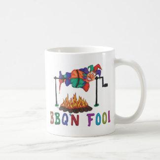 Taza de café del tonto de BBQ'n