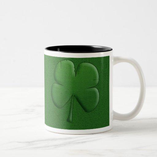 Taza de café del trébol