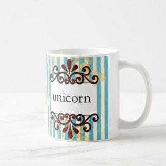 Taza de café del unicornio de la revista de Persep