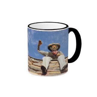 Taza de café del vaquero