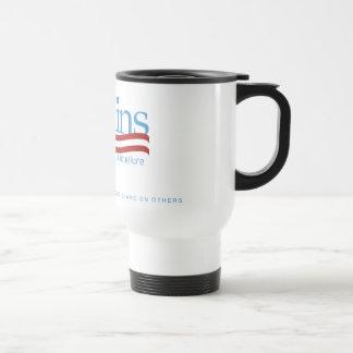 Taza de café del vaso de Pete Collins