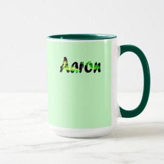 Taza de café del verde caqui de Aaron
