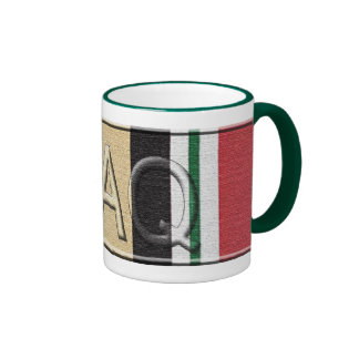 Taza de café del veterano de Iraq