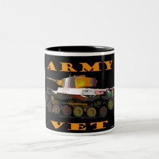 Taza de café del veterinario del ejército