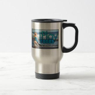 Taza de café del viaje - acero inoxidable 15 onzas