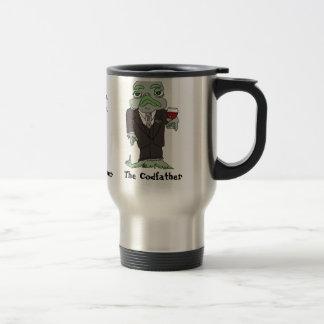Taza de café del viaje de Codfather