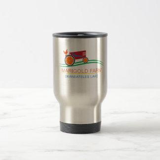 Taza de café del viaje de la granja de la maravill