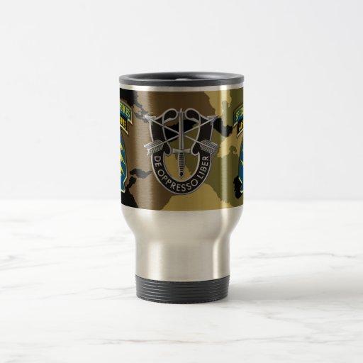 Taza de café del viaje de las fuerzas especiales