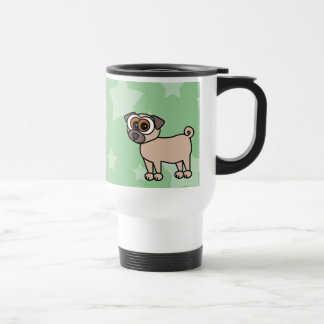 Taza de café del viaje del barro amasado del dibuj