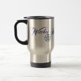 Taza de café del viaje del brew de las brujas
