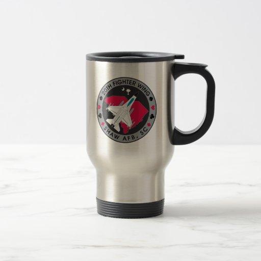 Taza de café del viaje del jugador