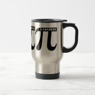 Taza de café del viaje del pi