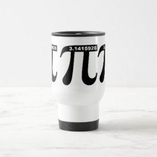 Taza de café del viaje del pi (blanca)