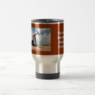 Taza de café del viaje - enchufe de la bomba