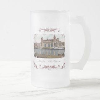 Taza de café del Victorian de la isla de Ellis