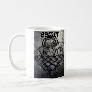 Taza de café del videojugador