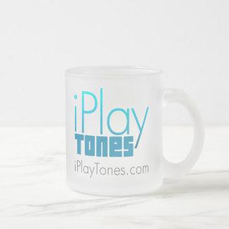 Taza de café del vidrio esmerilado - 10 onzas