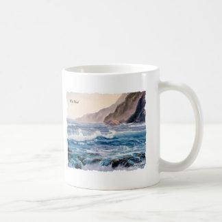 Taza de café del viento del oeste