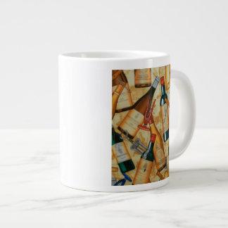Taza de café del vino taza extra grande