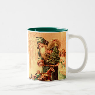 taza de café del vintage de la mella del st