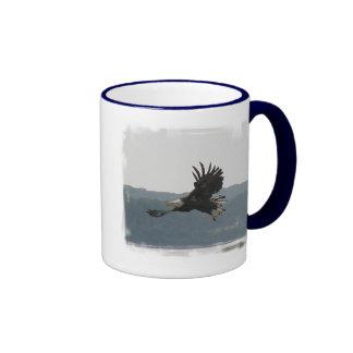 Taza de café del vuelo de Eagle
