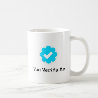 Taza de café del YouVerifyMe