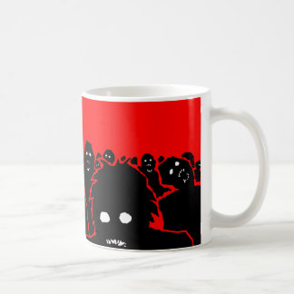 "Taza de café del zombi ""de la horda"""