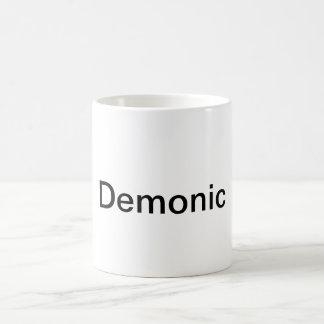 Taza de café demoníaca