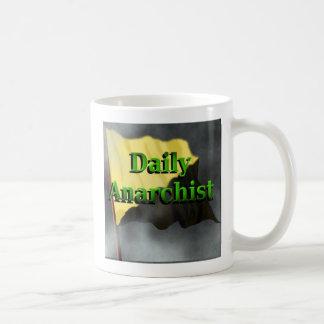 Taza de café diaria del anarquista