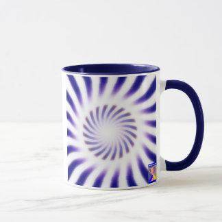 Taza de café dinámica de la luminancia y del