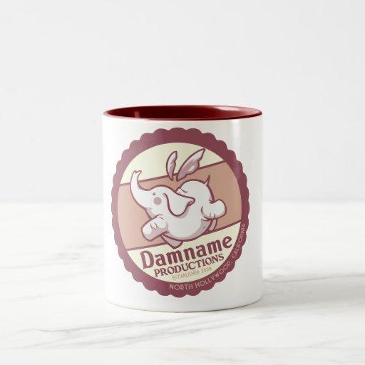 Taza de café - diseño del vintage