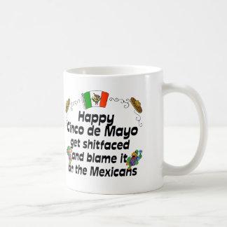 Taza de café divertida de Cinco de Mayo