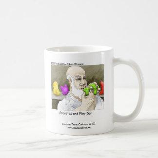 Taza de café divertida de Sócrates y del Juego-Do