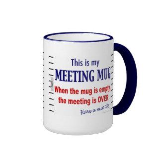 Taza de café divertida del humor de la oficina de