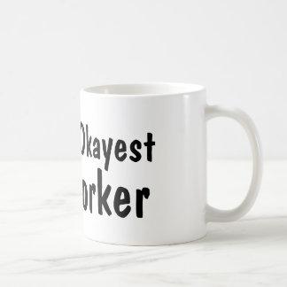 Taza de café divertida del trabajador el | de