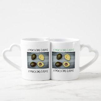 Taza de café divertida fijada para los amantes del