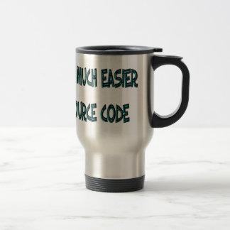 Taza de café divertida para el informático