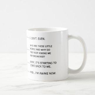 Taza de café divertida para la mamá o el papá