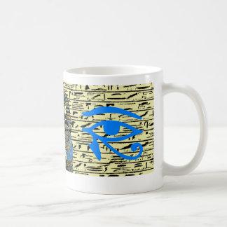 Taza de café egipcia