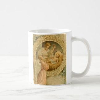 Taza de café: El amor bajó en el navidad