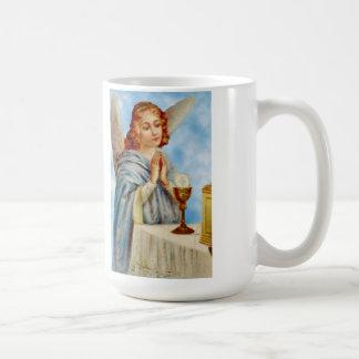 Taza de café: El ángel reflexiona