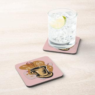 Taza de café - el práctico de costa de la bebida posavasos de bebida
