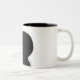Taza de café elegante de Nosepicker